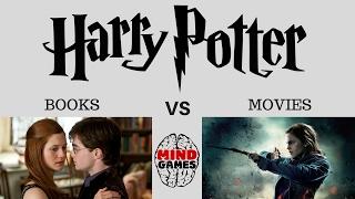 Harry Potter Books vs Harry Potter Movies - SHOCKING HARRY POTTER BOOKS vs MOVIES DIFFERENCES