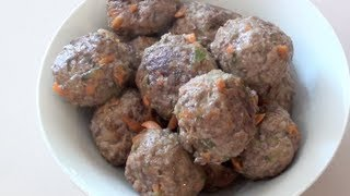 CHEESY MEATBALLS - KIDS RECIPE Thumbnail