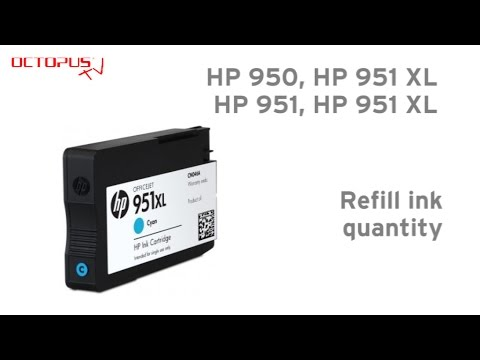 hp 950 hp 951 cartridge ink quantity for refilling youtube. Black Bedroom Furniture Sets. Home Design Ideas