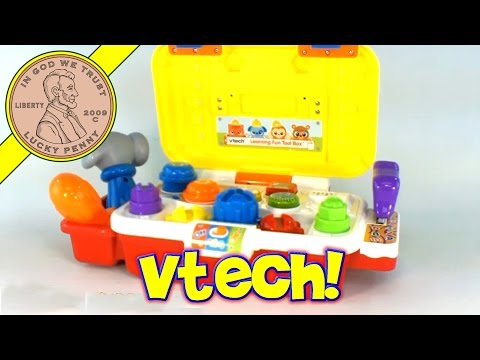 VTech Learning Fun Tool Box Hammering Workbench Toy Kids Toy Reviews