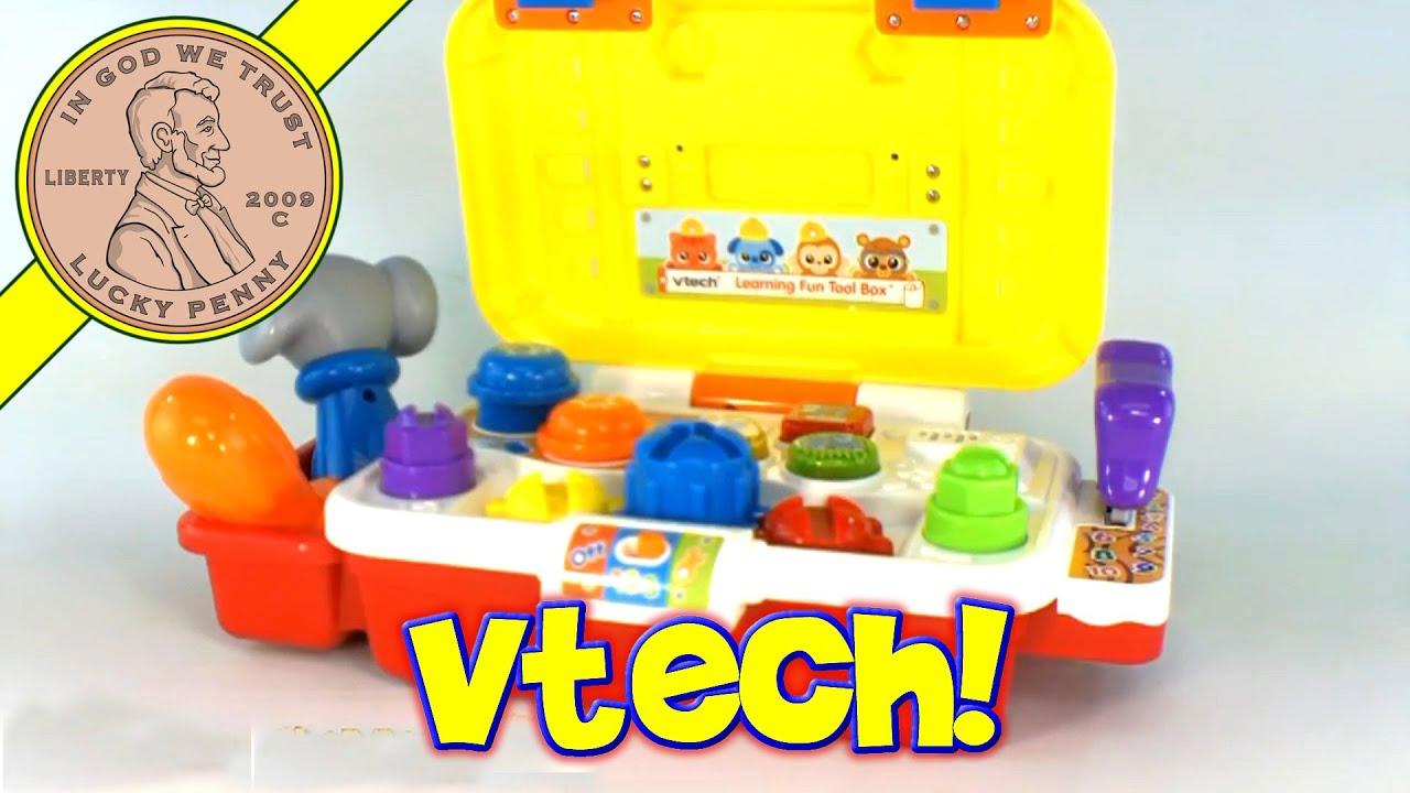VTech Learning Fun Tool Box Hammering Workbench Toy Kids ...