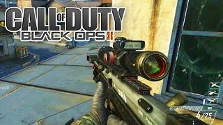 Black Ops 2(PC)- Treinando e voltando a jogar bem de Sniper