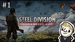 Steel Division: Normandy 44 Beta - Multiplayer battle #1