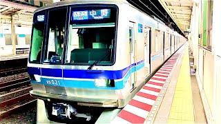 【三菱PMSM】東京メトロ東西線05系05-121F 原木中山駅発車