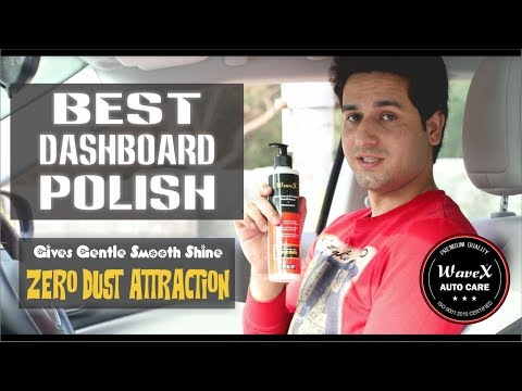 Wavex Car Dashboard Polish And Leather Conditioner Plus Protectant | Zero Dust Attraction