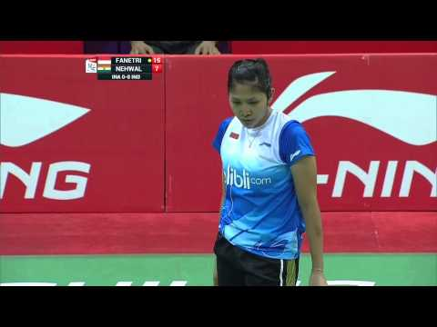 THOMAS AND UBER CUP FINALS 2014 Session 14, Match 1