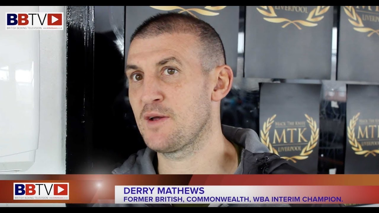 DERRY MATHEWS ON HIS CAREER, RETIREMENT, TRAINING DAVID PRICE, PLUS DISABILITY BOXING CLASSES