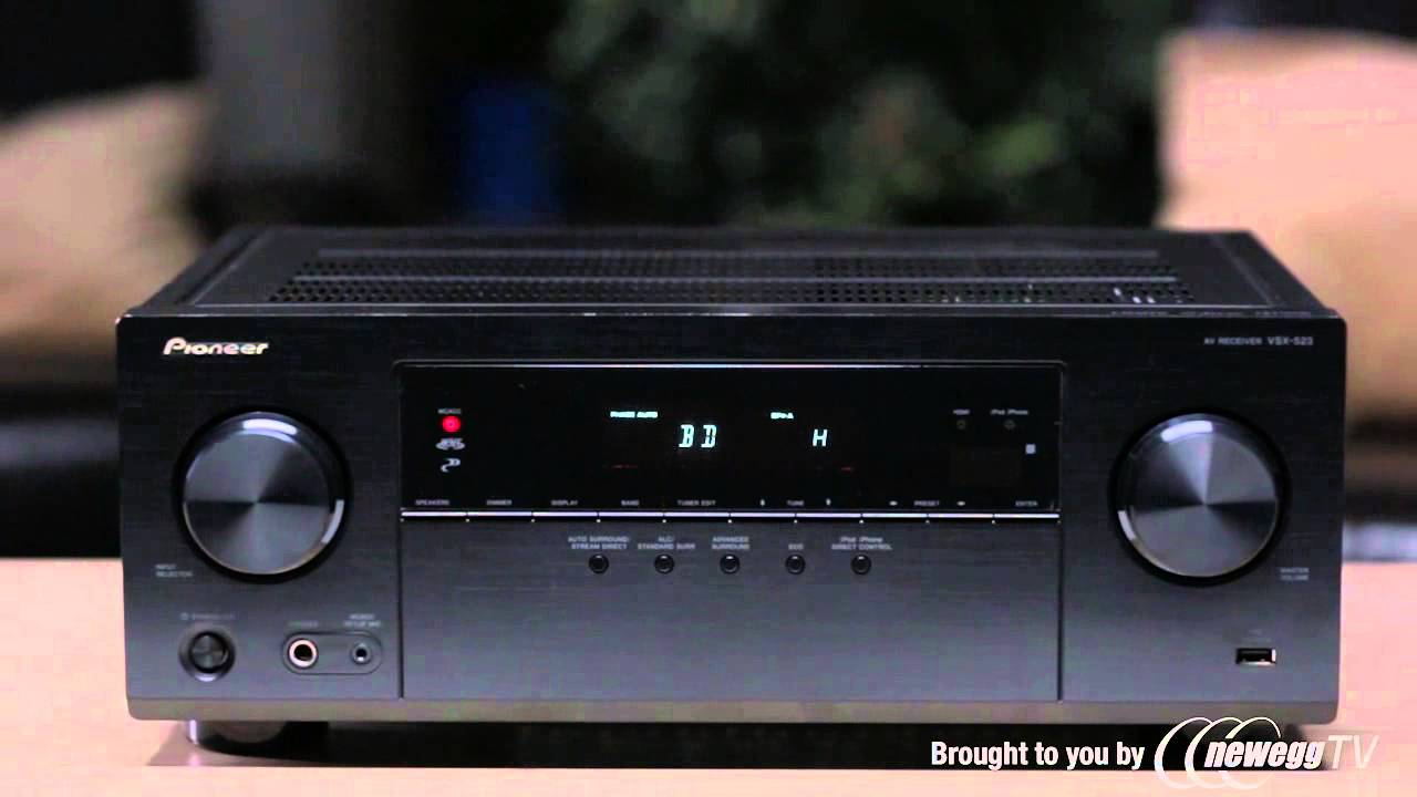 product tour pioneer vsx 523 k 5 channel receiver youtube rh youtube com Pioneer VSX 824 K Pioneer VSX-821 Repair K