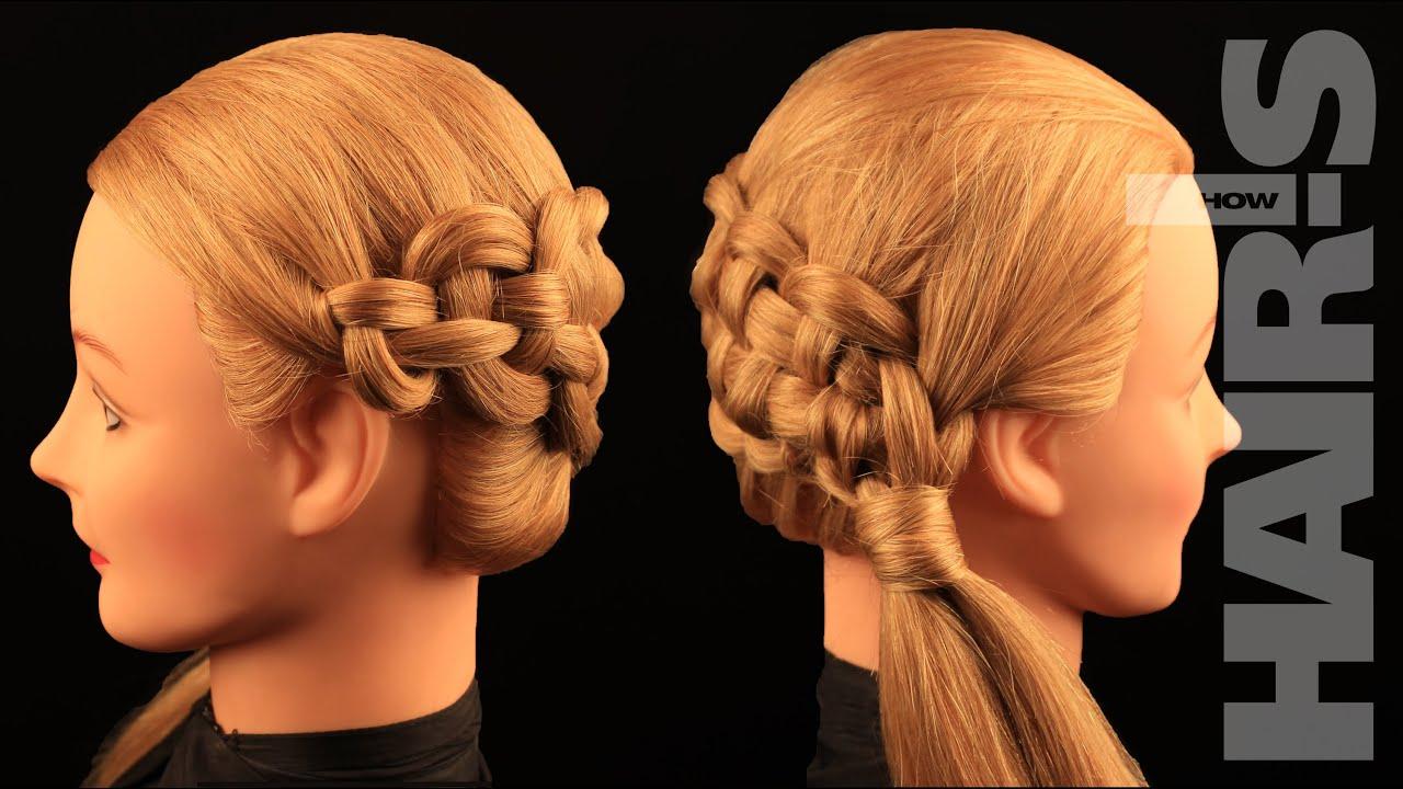zipper braid hairstyle