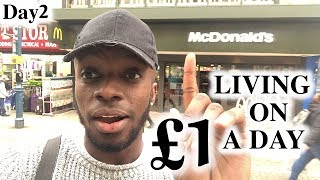 London Hacks - Living on £1 a Day | #2