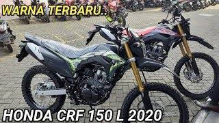 Download lagu REVIEW WARNA BARU HONDA CRF 150 L new extreme grey 2020