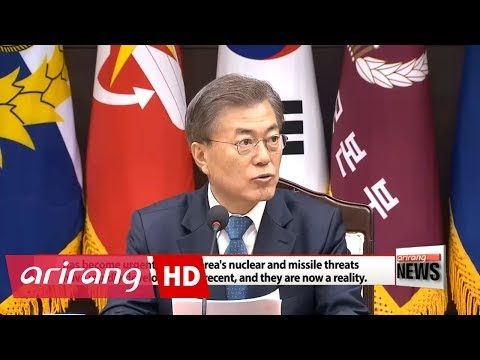 President Moon calls North Korean missile launch serious threat to peace