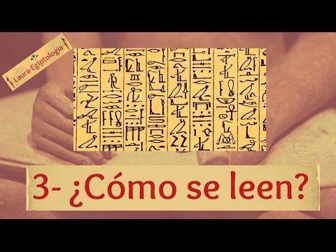 -3- Cómo leer JEROGLÍFICOS EGIPCIOS - Los signos y sus funciones | Laura-Egiptologia