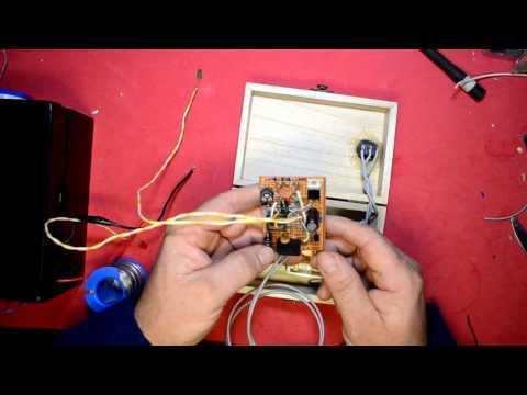 INVERSOR DE 12 V A 110 V O 220 V  100 W  50/60 HZ JUANYUS 2ª (cargador de baterías)
