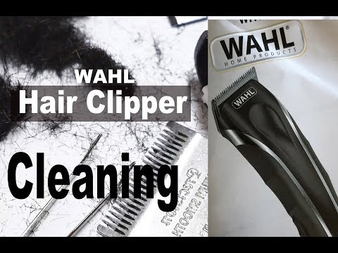 WAHL Hair Clipper CLEANING | Most Satisfying | Hair CLIPPER CLEANING | Hair Clipper CARE