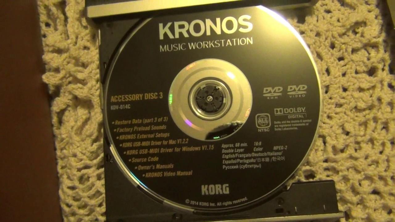 Korg Kronos Primary SSD Drive install Tutorial - Самые