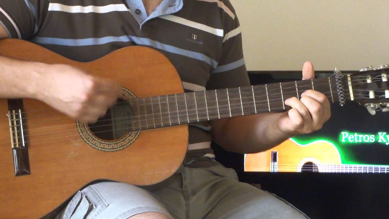 Demi Lovato Made In The Usa Guitar Chords Petros Youtube