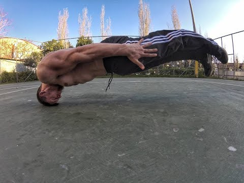 Top 10 Hardest Static Moves in Street Workout (HD)
