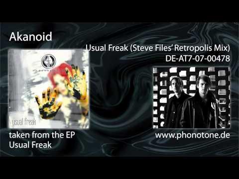 Akanoid - Usual Freak (Steve Files' Retropolis Mix)