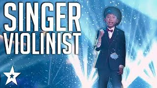 Young Musician With Amazing Voice on Kids Got Talent China | Got Talent Global