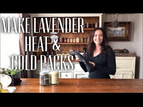 How to Make a Rice & Lavender Heat Pack / Cold Pack