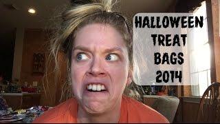 HALLOWEEN TREAT BAGS 2014