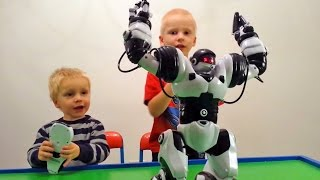 игрушка робот с пультом робот танцует и разговаривает wowwee robosapien humanoid toy robot