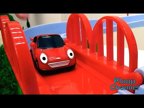 Thumbnail: TAYO TRUCK FIXERS! - TAYO McQueen Racing Car & Toy Trucks Friends. Toy Cars videos for kids cartoons