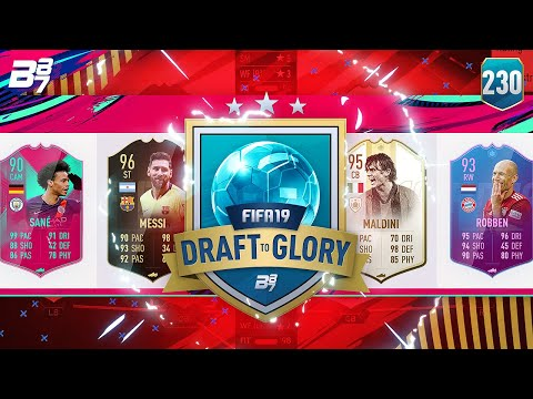 YES! LEO MESSI IS PURE MAGIC! | FIFA 19 DRAFT TO GLORY #230