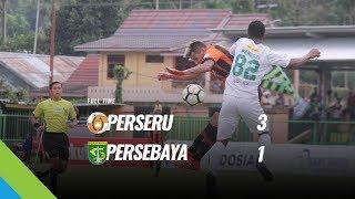 [Pekan 18] Cuplikan Pertandingan Perseru vs Persebaya, 31 Juli 2018