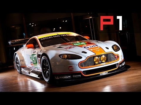 How To Build A Aston Martin GTE Racing Car