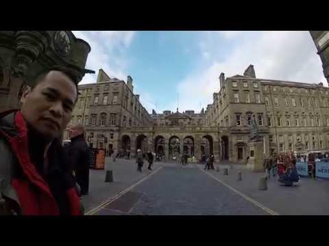 A Bruneian Martial Artist's Journey - Edinburgh 19th October 2015