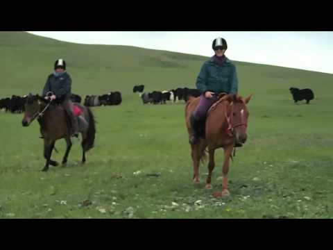 Ruby & Fiona's Mongolian Horse Trek Adventure with Stepperiders