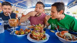 Mexican STREET FOOD!! Burritos, Tacos + Seafood In Tucson, Arizona!!