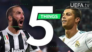 RONALDO, HIGUAÍN, ZIDANE: 5 Things You May Not Know About Juventus - Real Madrid