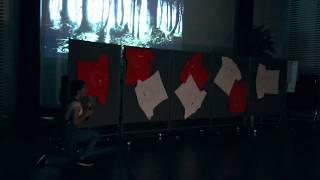 Сказка «Красная Шапочка» в стиле Фильма ужасов