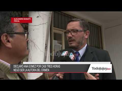 Ana Gómez declaró que ella no mató a su hijo Alexis Mamaní