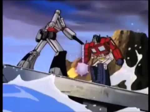 Transformers g1 optimus prime vs megatron mtmte pt2 youtube - Transformers cartoon optimus prime vs megatron ...