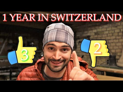 After living in Switzerland for one year. 3 things I like and 2 I do not.