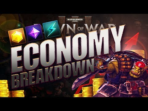 Dawn of War 3 ECONOMY OF WAR: Breakdown, Tips, and Guide.