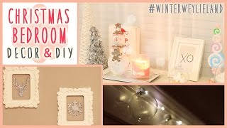 ❄ Christmas Bedroom Diy + Decor! #winterweylieland ❄ | Ilikeweylie