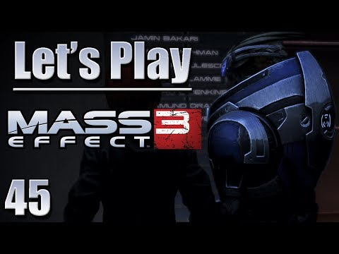 Let's Play Mass Effect 3, Blind - [Ep 45] - More Normandy Dialogue After Priority: Citadel | ME3