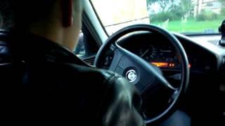 БМВ Е34 Замена заднего ручного стеклоподъемника на электрический ремонт ч.3 BMW E34
