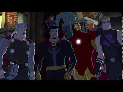 Avengers Assemble S02E12 Widows Run Dr Strange