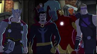 Avengers Assemble S02E12 Widows Run Dr Strange