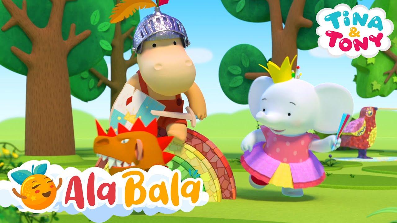 Prințesa Tina și cavalerul Tony - Desene animate pentru copii AlaBala