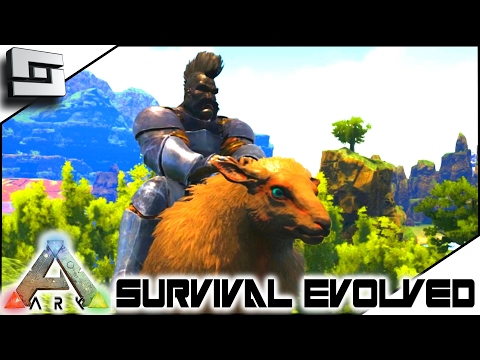 ARK: Survival Evolved - SPIDERGOAT! Ovis Taming S4E56 ( The Center Map Gameplay )
