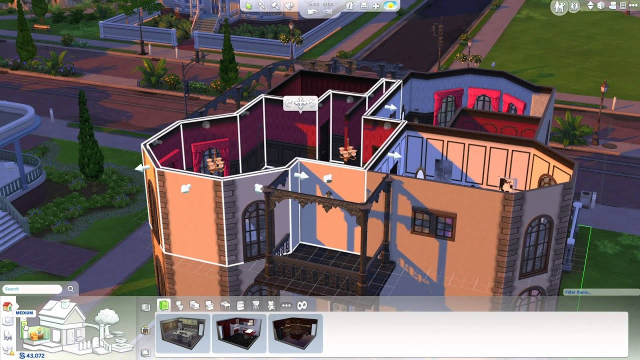Les sims 4 cr er ta maison youtube - Jeu de construction de maison virtuel ...