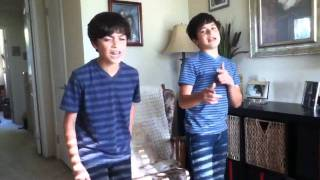 Download @RoneyBoys (Isaac & Ian) sing U Smile by Justin Bieber MP3 song and Music Video