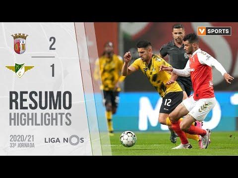 Braga Moreirense Goals And Highlights